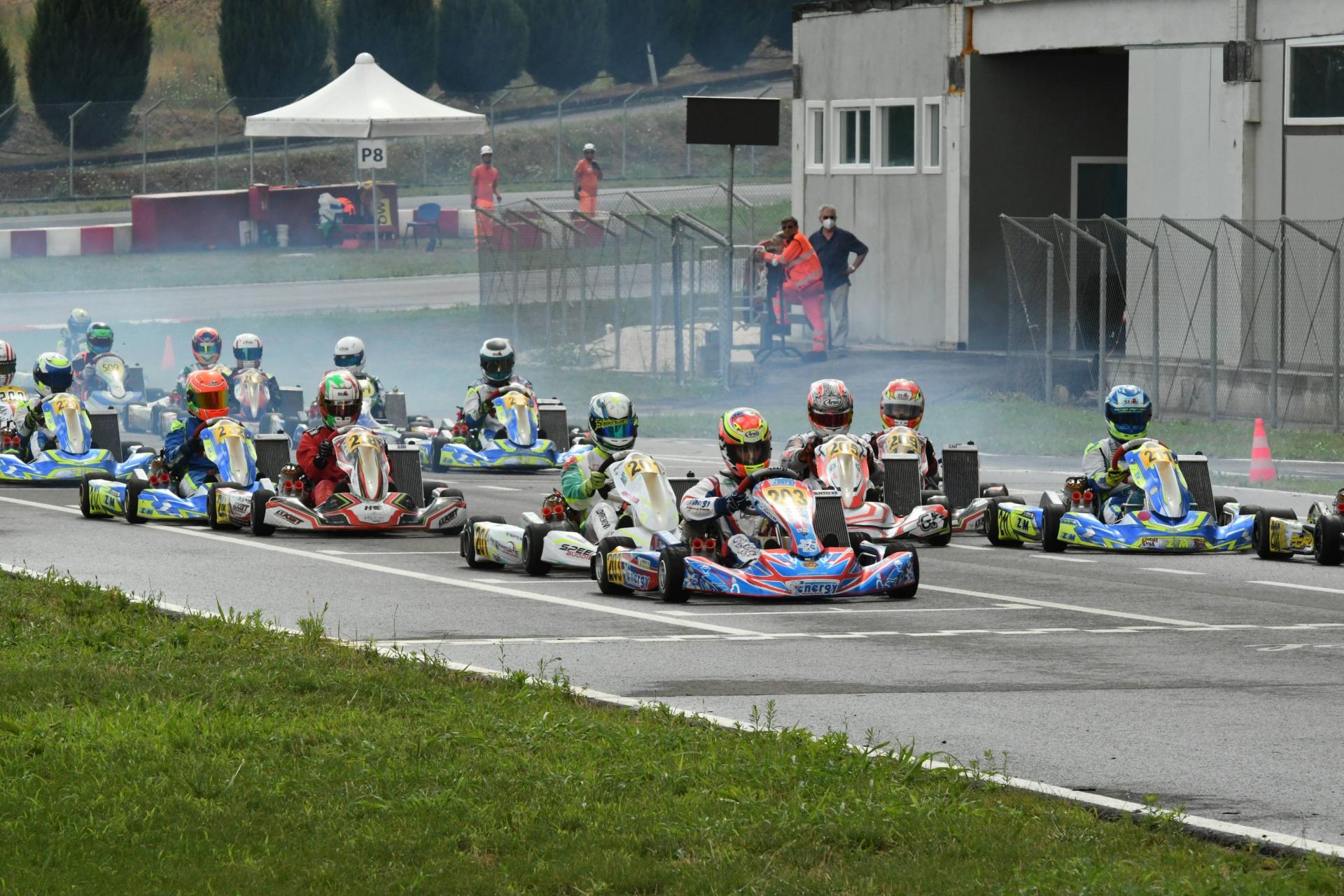 Franciacorta archivia la penultima gara della Rok Cup Italy in attesa del gran finale