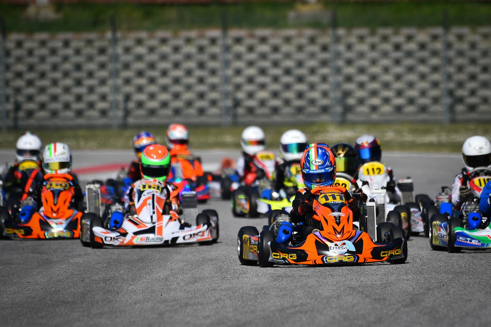 I ragazzi NGM Motorsport pronti per il fine settimana IAME Series Italy di Adria!