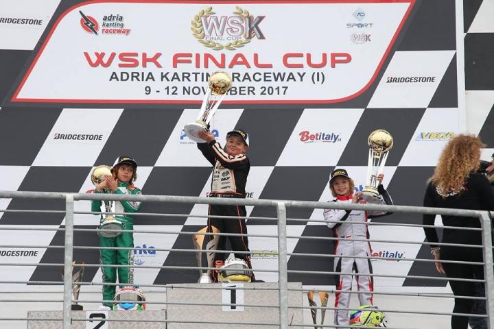 CRG con Spina e il Gamoto team trionfano nella WSK Final Cup
