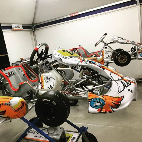 Dörr Motorsport e TB Motorsport con Kart Republic in Germania