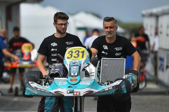 CIK FIA – Giacomo Pollini: «Le curve veloci di Genk possono adattarsi al nostro telaio»