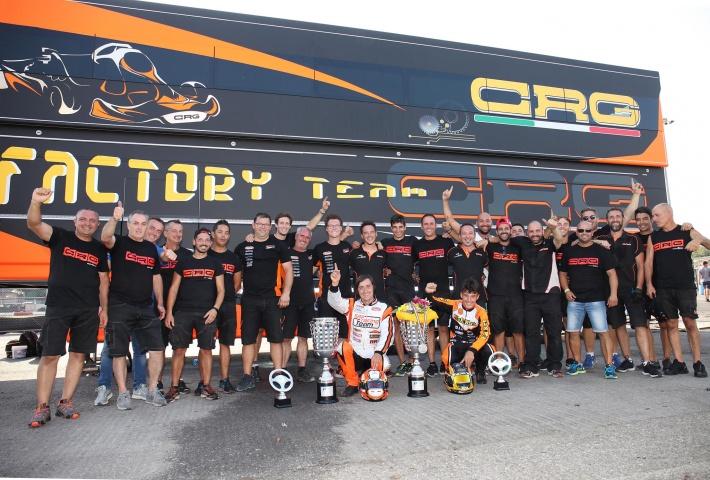 CRG vince il Campionato Europeo  in KZ con Jorrit Pex