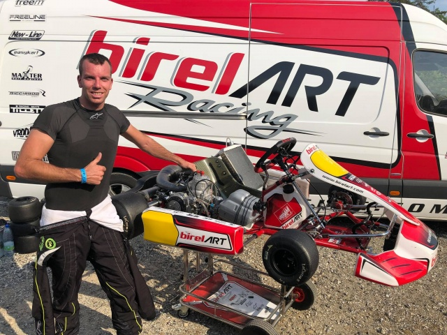 Thonon con Birel ART KSW a Genk, i retroscena