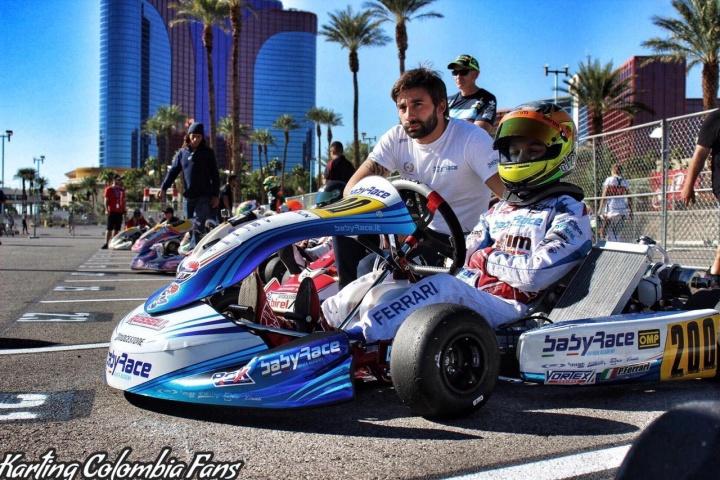 Paolo Ferrari porta alto il tricolore a Las Vegas