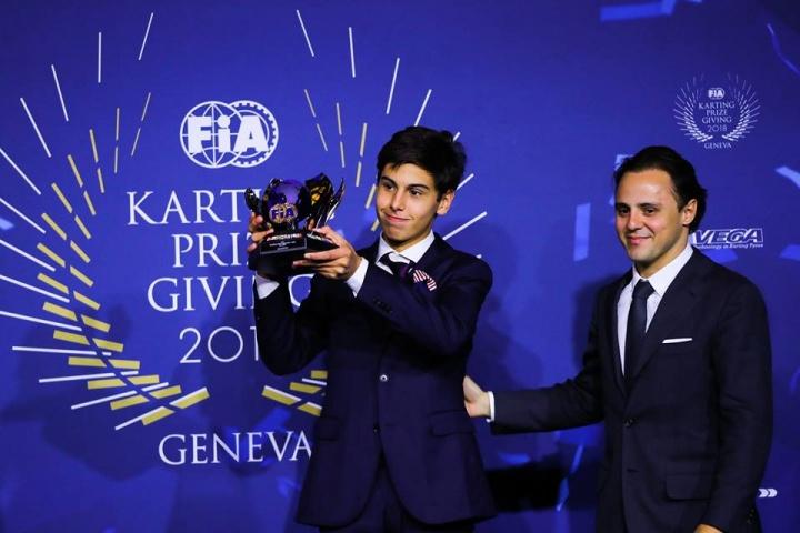 A Ginevra premiati i piloti CRG per la stagione CIK-FIA 2018