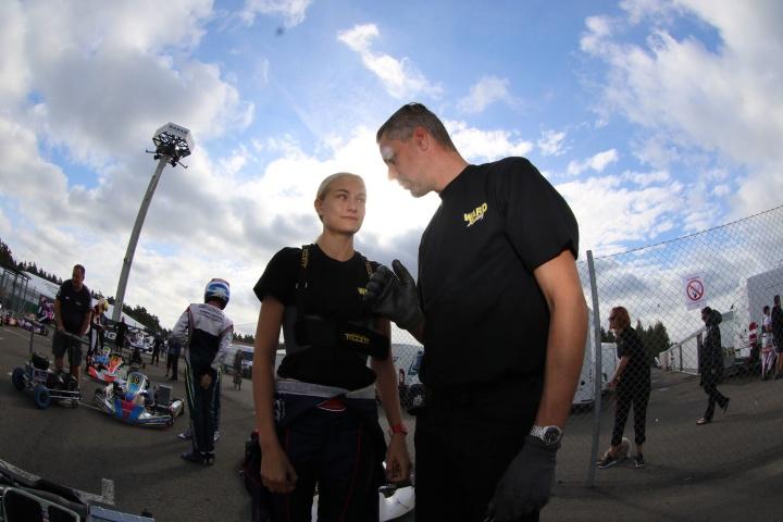 Le donne del karting - Cecilia Hedqvist