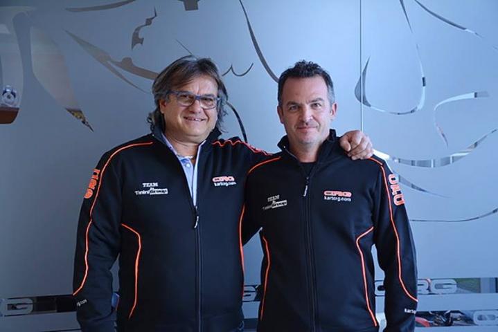 Autoeuropeo gestirà un team mini kart con CRG