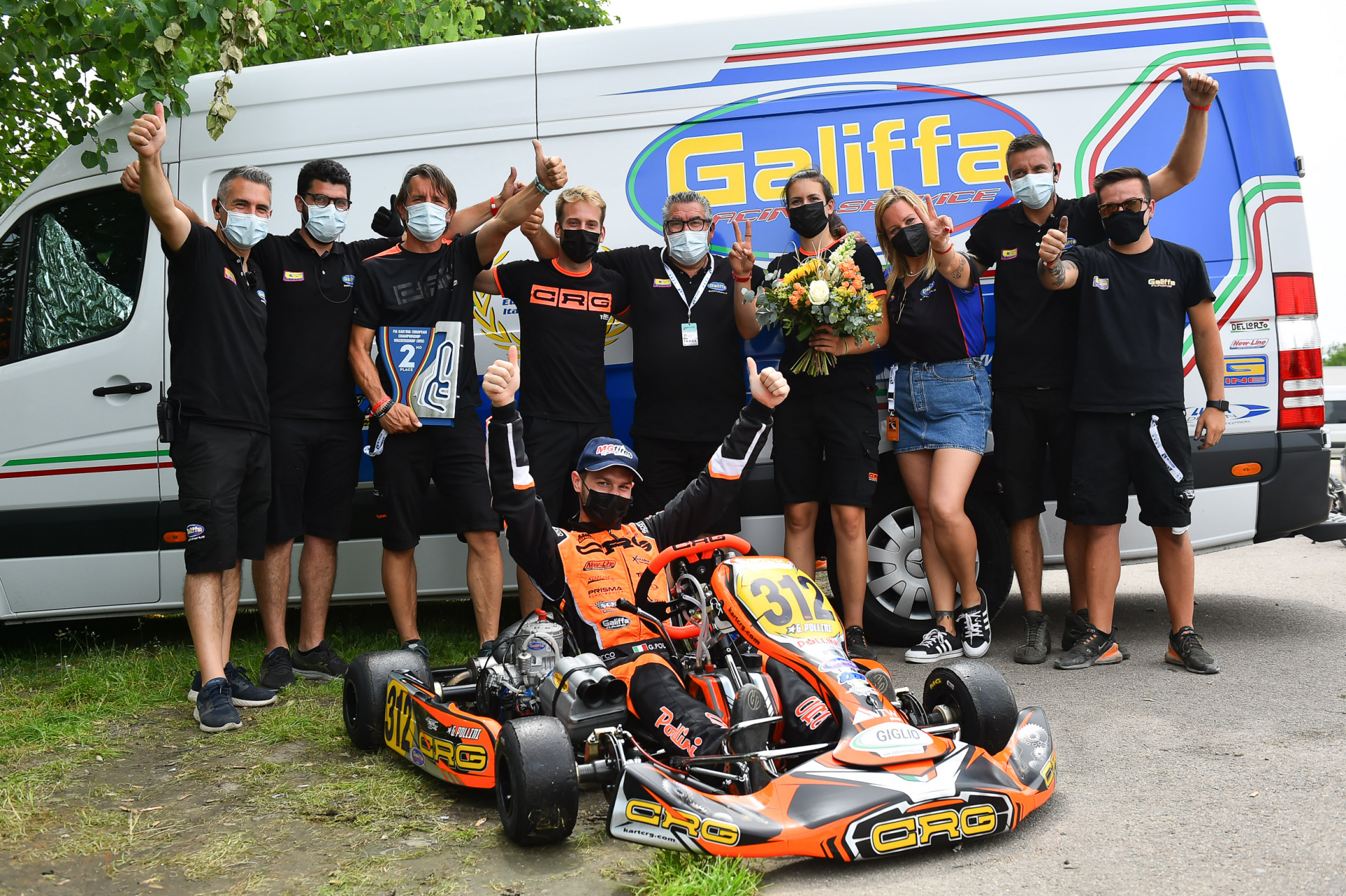 Podio europeo per NGM Motorsport con Giacomo Pollini a Wackersdorf