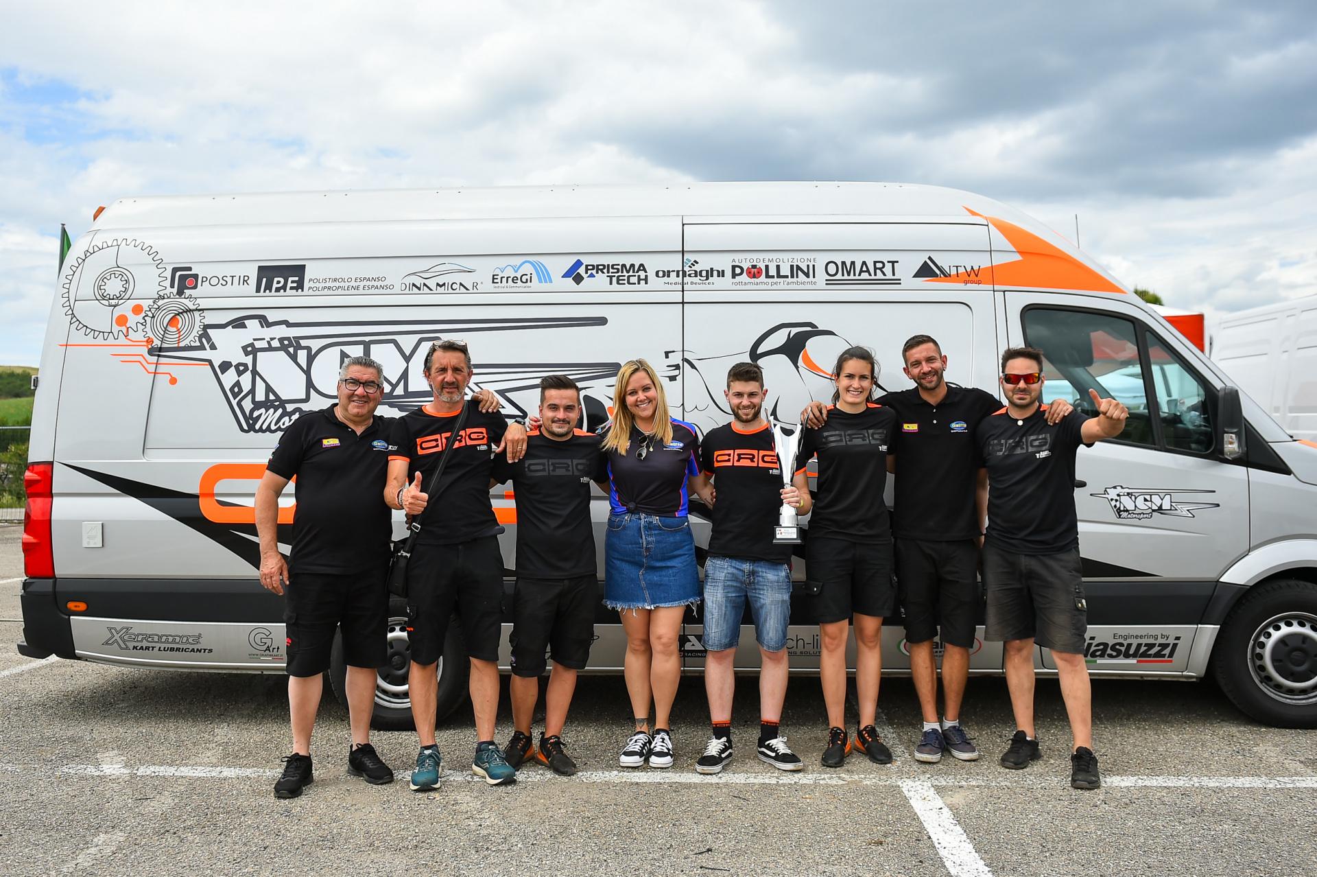 NGM Motorsport sul podio di Siena con Giacomo Pollini
