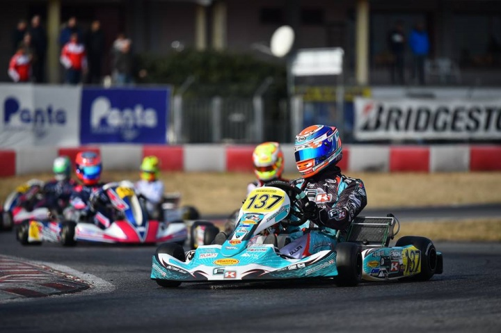 Primo round WSK di studio per NGM Motorsport