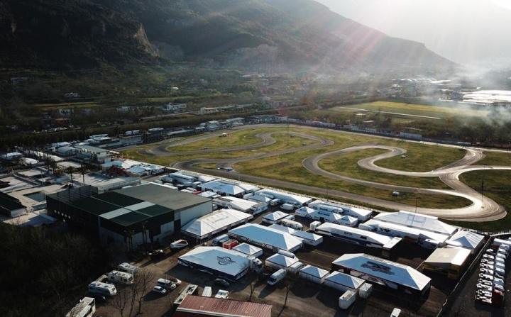 FIA Karting, Sarno – Anteprima del weekend