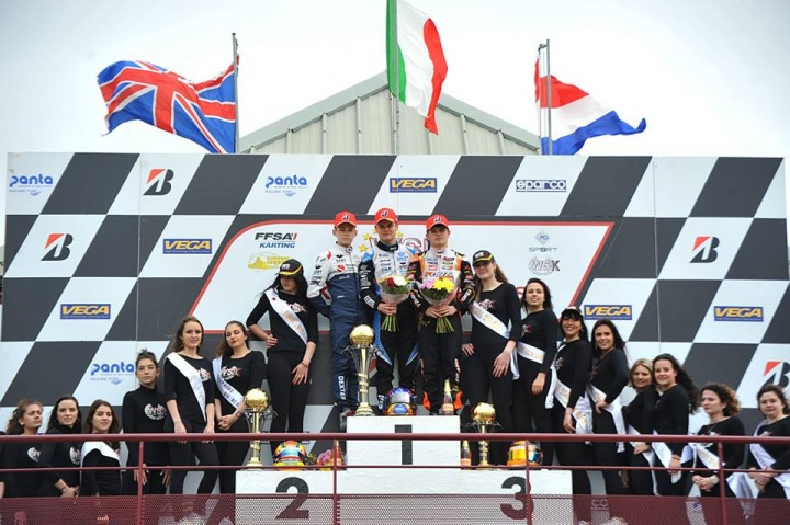 WSK Euro Series, Angerville – Finali