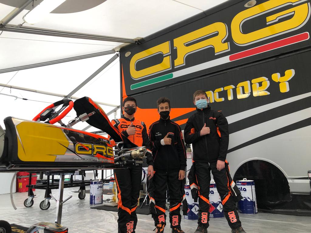 Il CRG Racing Team a Genk per preparare l'Euro OK - OKJ