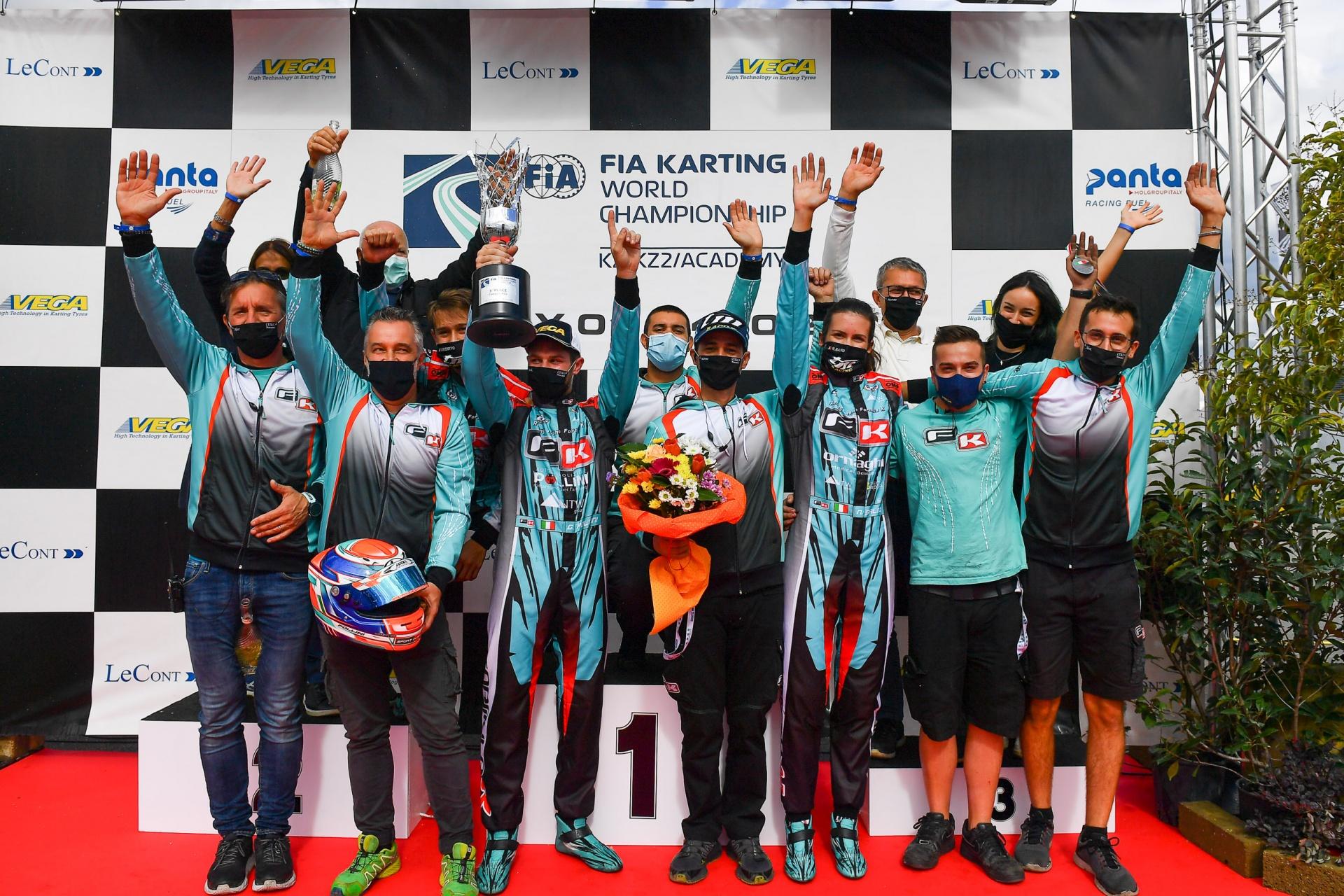 NGM Motorsport e Pollini al terzo posto dell'International Super Cup KZ2