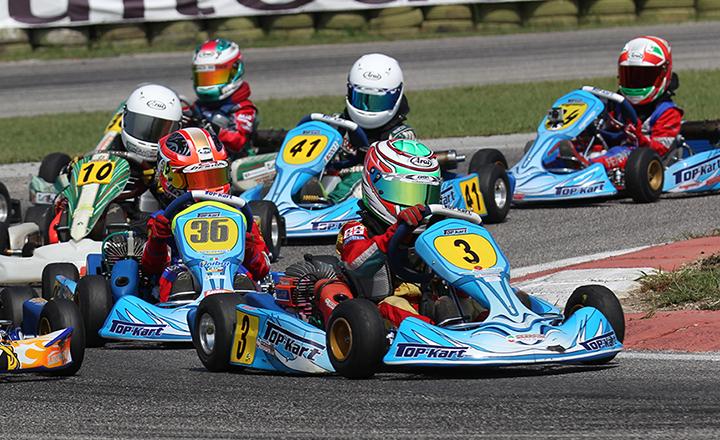Al via l'attività karting pre-agonistica per i giovanissimi da 6 a 8 anni, con la 60 Baby depotenziata