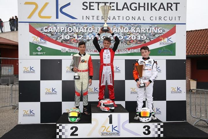 Cristian Bertuca vince nel primo round del Campionato Italiano X30