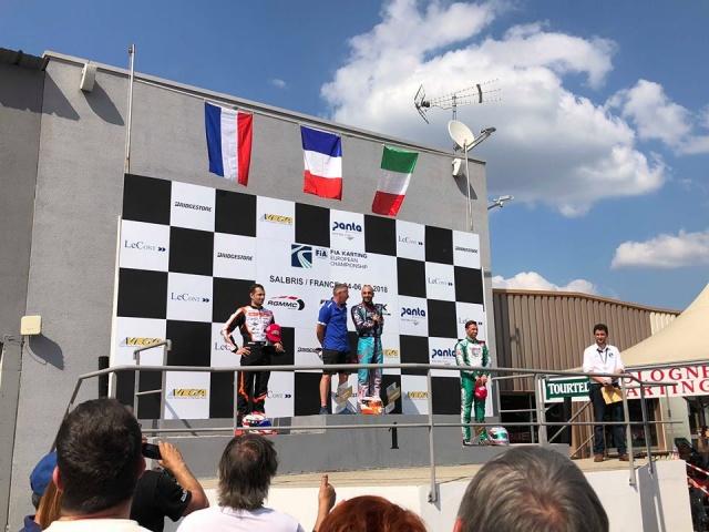 Kart Grand Prix of France –  Finali: Salbris porta bene a Renaudin (KZ2) e Iglesias (KZ)