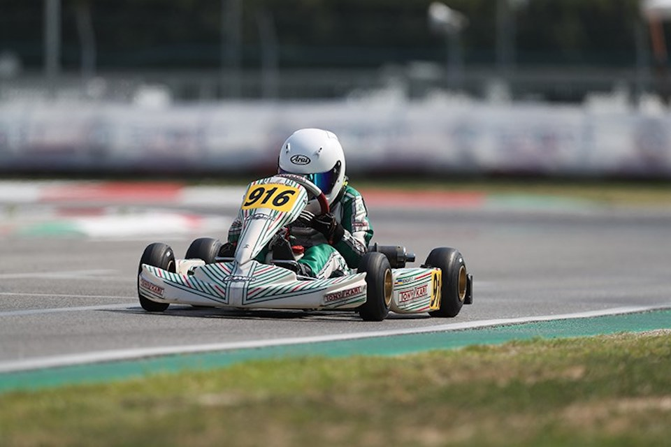 Gamoto Kart scalda i motori in vista della WSK Champions Cup