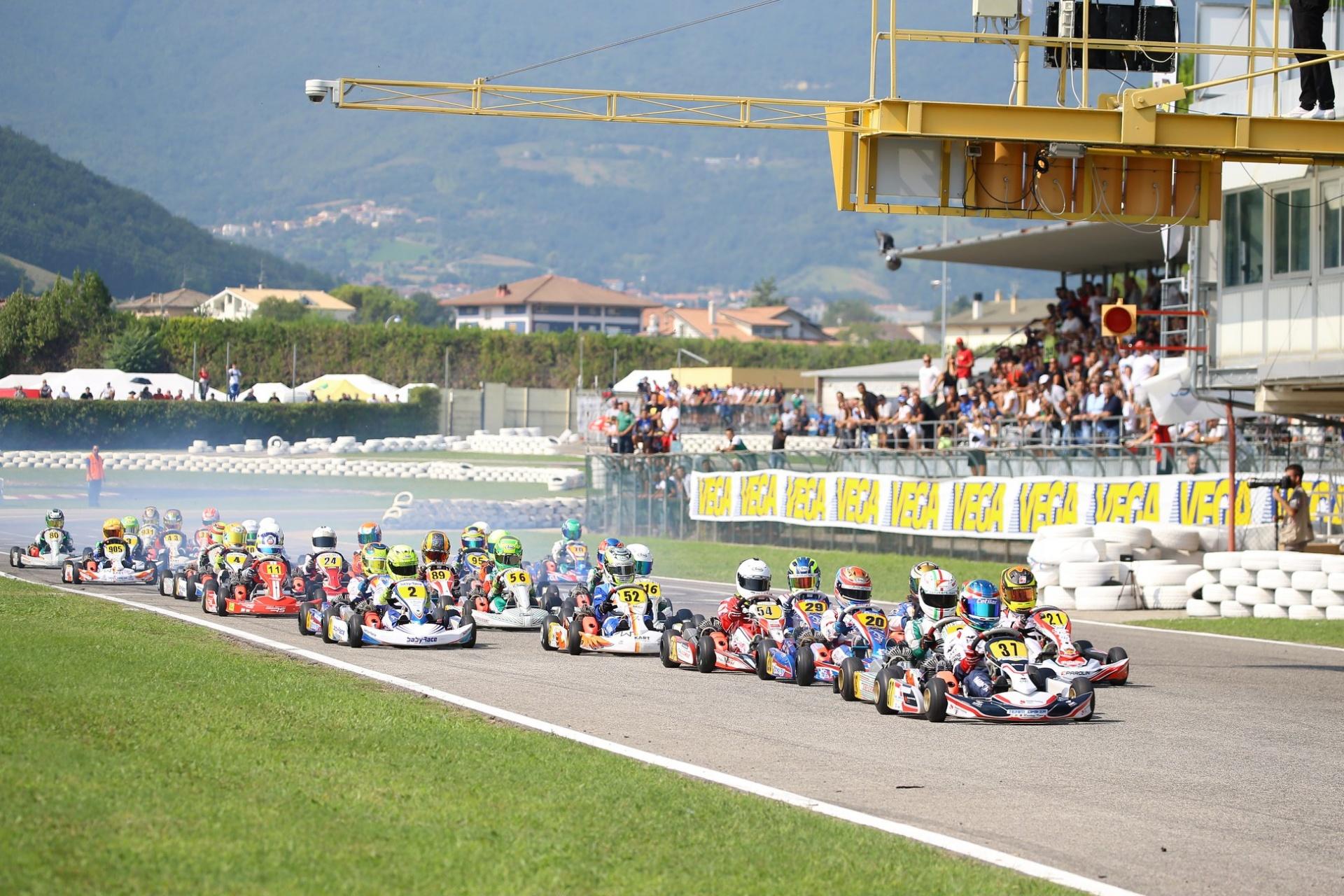 Calendario e regolamenti dei Campionati Italiani ACI Karting 2020