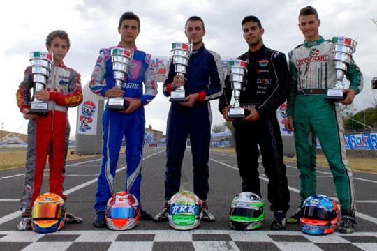I campioni Rok Tricolore sono: Albanese, Colafrancesco, Ercoli, Fontana e Nencetti.