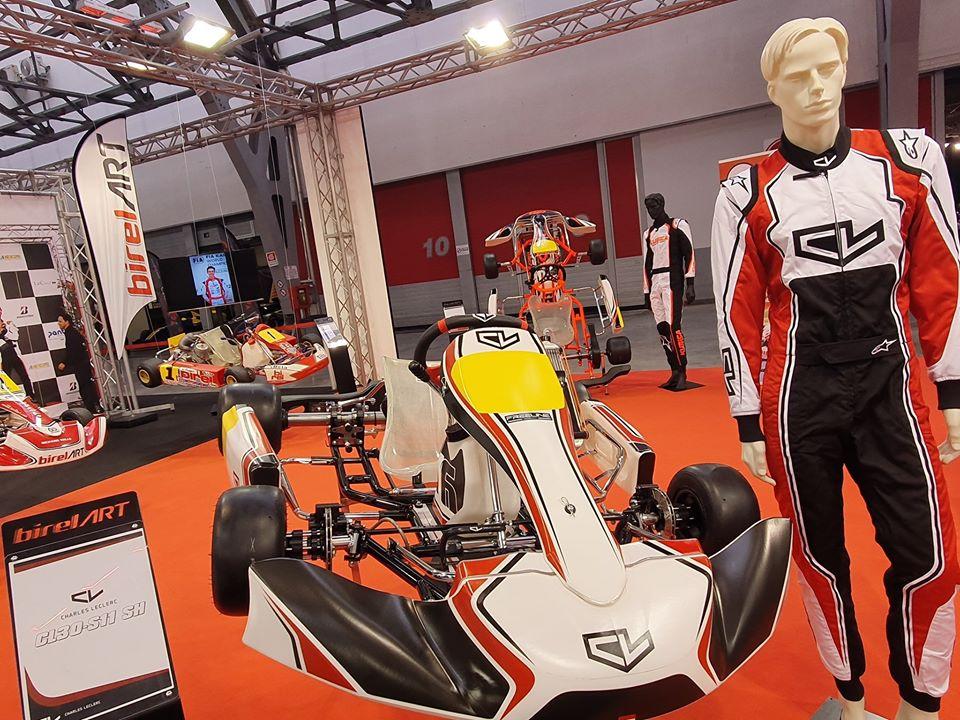 Charles Leclerc Kart sceglie Lennox Racing