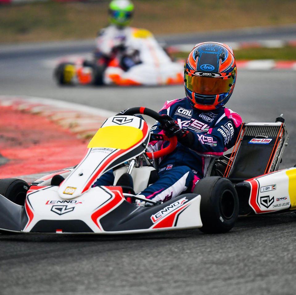 Charles Leclerc kart svela la prima line-up