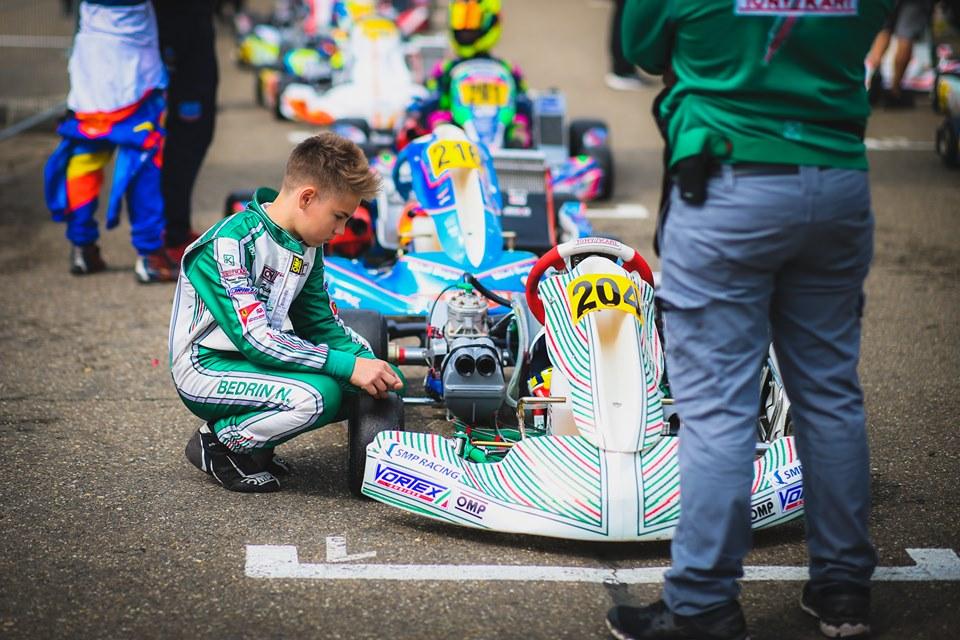 Nikita Bedrin nuovo volto Ward Racing