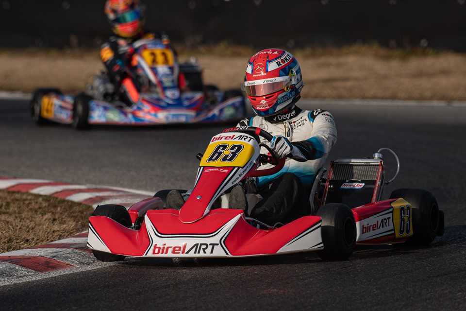 Ritorno al karting per Russell e Albon