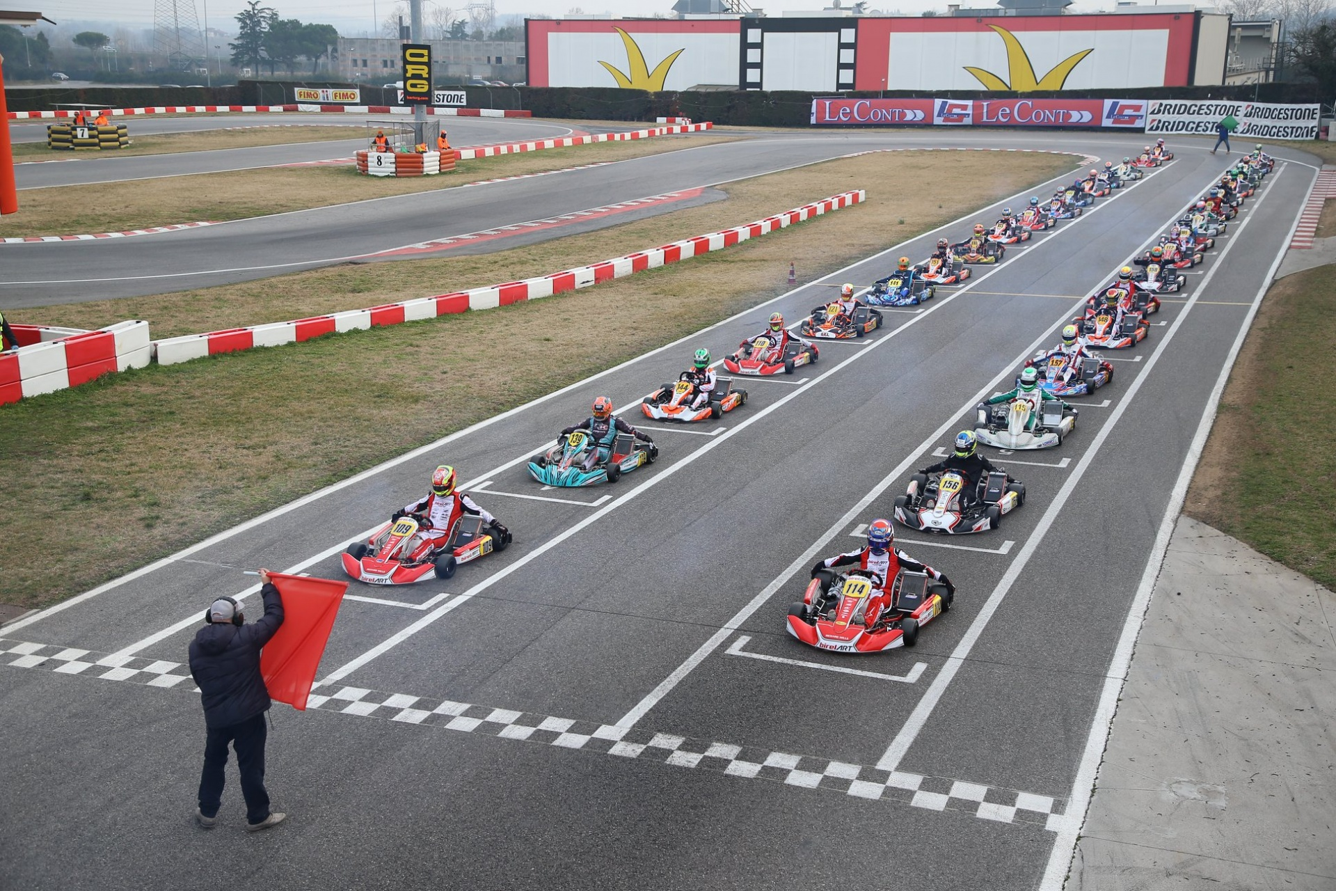 La Super Master Series WSK torna in scena nel weekend