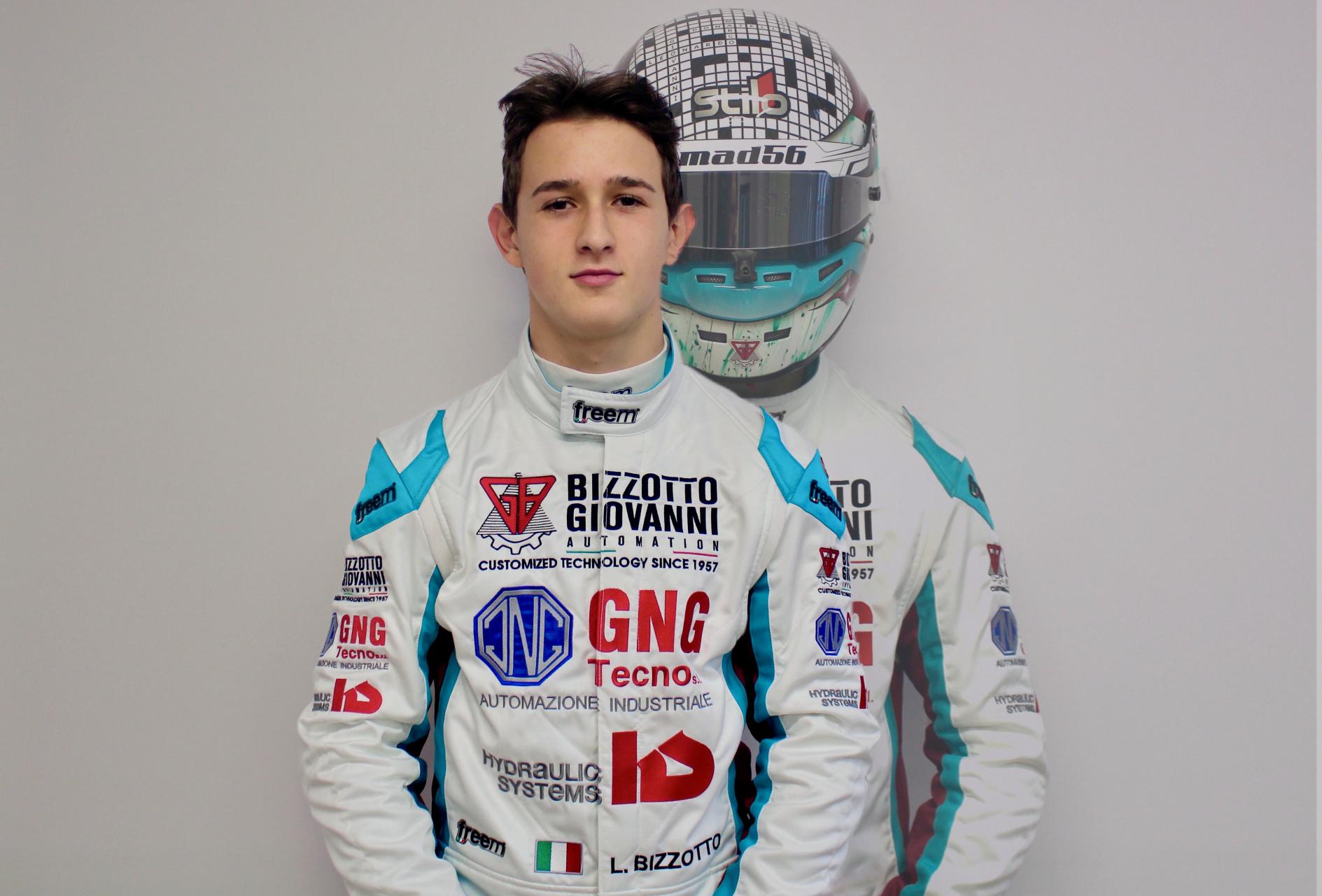 Leonardo Bizzotto, il karting e l'obiettivo F4