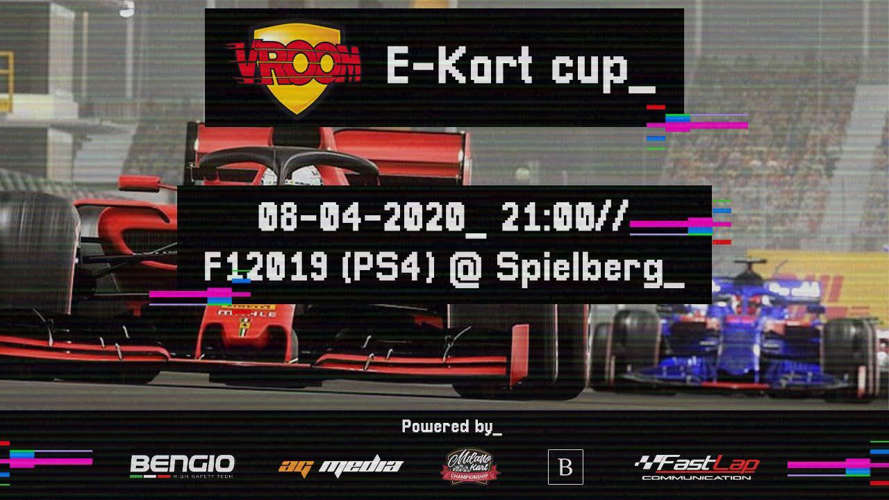 "Arriva la Vroom e-""Kart"" Cup!"
