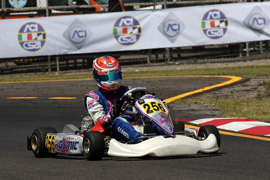 A Siena le prove libere cronometrate lanciano i primi protagonisti della terza prova del Campionato Italiano CSAI Karting
