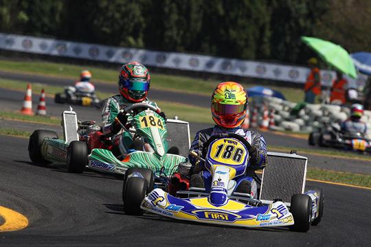 Gare bollenti a Siena nelle qualificazioni della terza prova del Campionato Italiano CSAI Karting