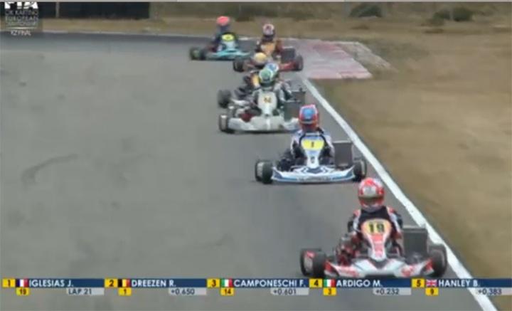 Camponeschi (KZ) e Johansson (KZ2) campioni europei della 125 a marce