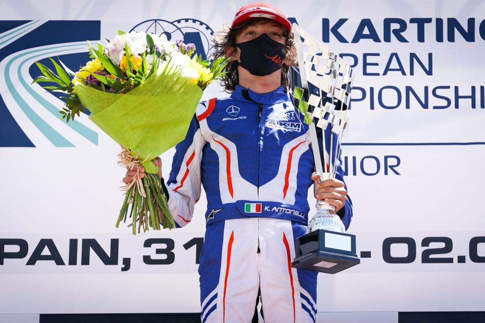 Andrea Kimi Antonelli: «E' stata una vittoria davvero speciale»