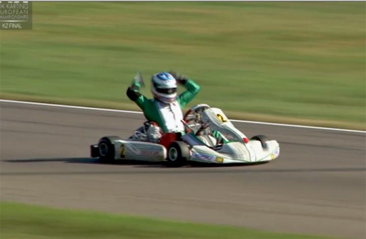 Europeo KZ: Ardigò vince il campionato europeo