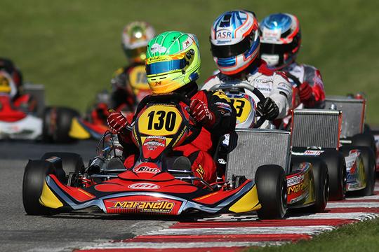 Top-drivers a confronto nell'Italiano a Siena in KZ2, in pista anche Zanchetta e Iglesias. Presenza record nella Mini