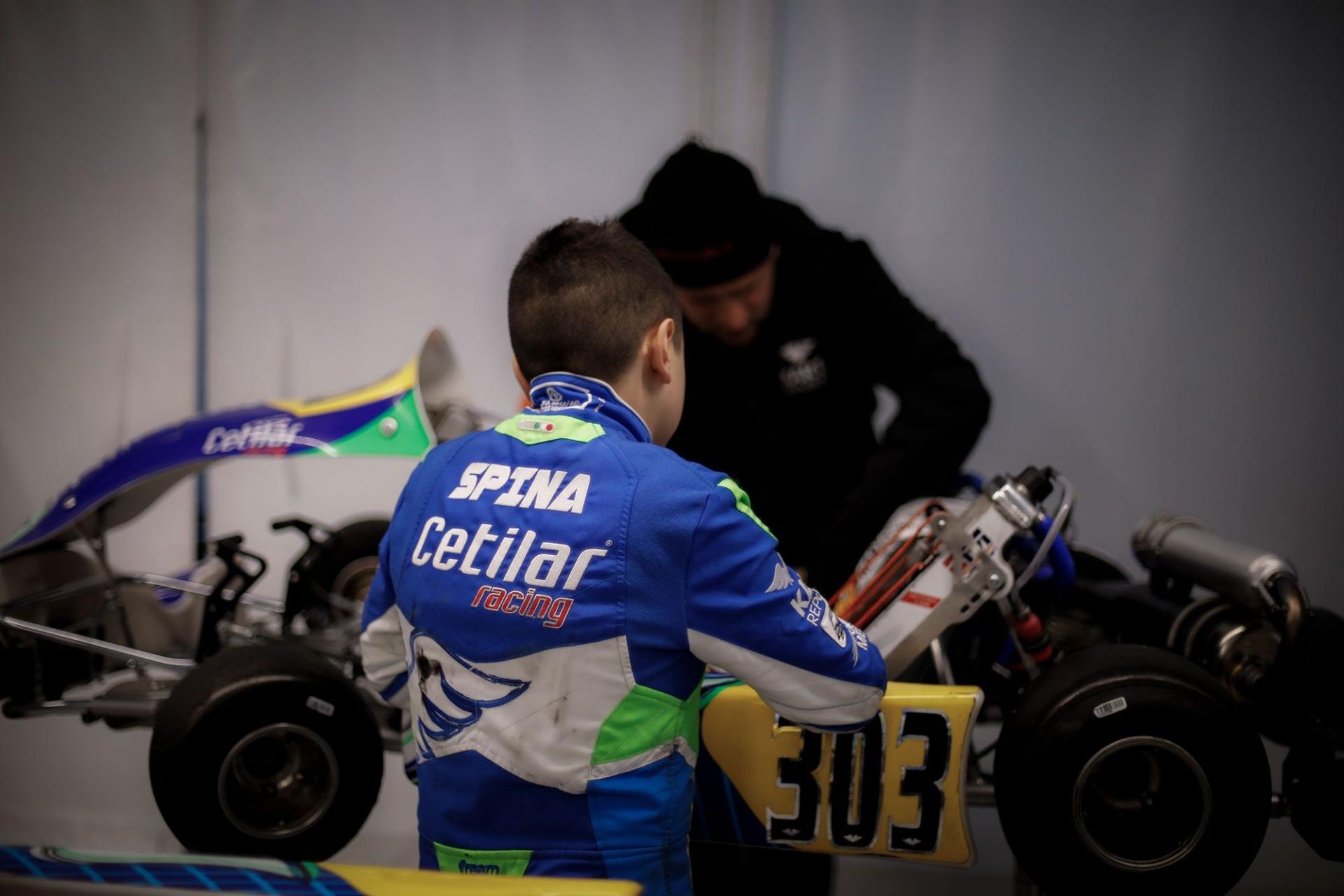 Alfio Spina, promessa azzurra