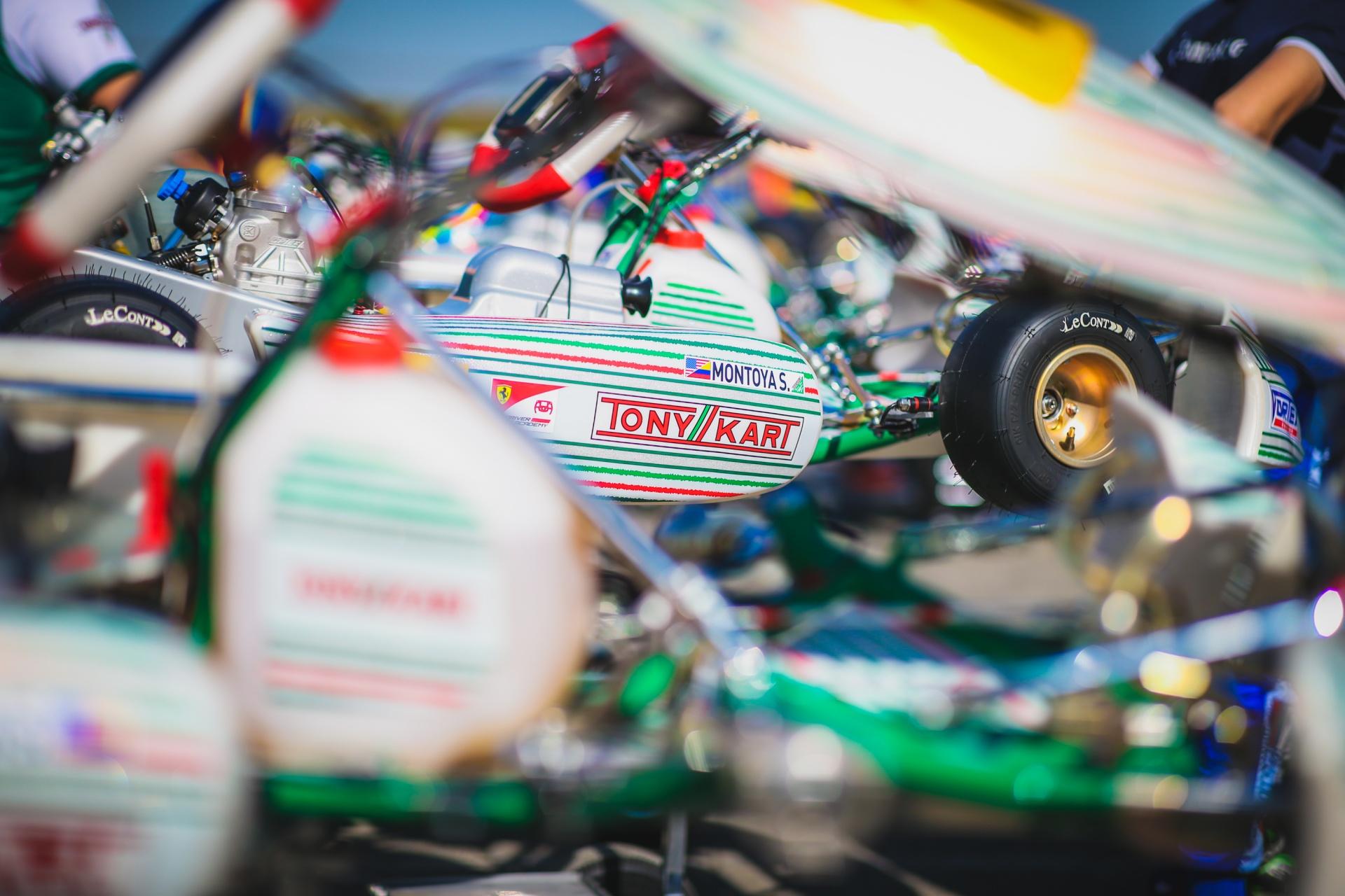 Clamoroso alla WSK Open Cup: Travisanutto e Hiltbrand con Tony Kart Racing Team!