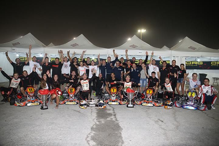 In Bahrain CRG è campione del mondo con Hiltbrand!