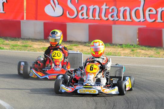 Nel Campionato Spagnolo in KZ2 un altro successo CRG con Alex Palou Montalbo