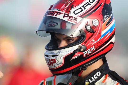 CRG, a Genk Jorrit Pex festeggia per la terza volta il titolo nel Campionato Tedesco KZ2