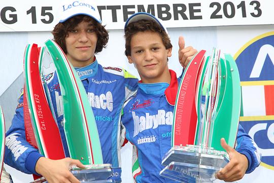 Avvincenti finali a Lonato nella 4a prova del Campionato Italiano Csai Karting