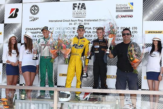 Vittoria a Kristianstad (S) nell'Europeo CIK-FIA di De Conto (I – Birel-TM KZ), Lundberg (S – Alpha-Parilla KZ2) e Travisanutto (I – PCR-TM KFJ). Il Campionato a Dreezen (B – Zanardi-Parilla KZ) e a Dalè (I – CRG-Maxter KZ2).