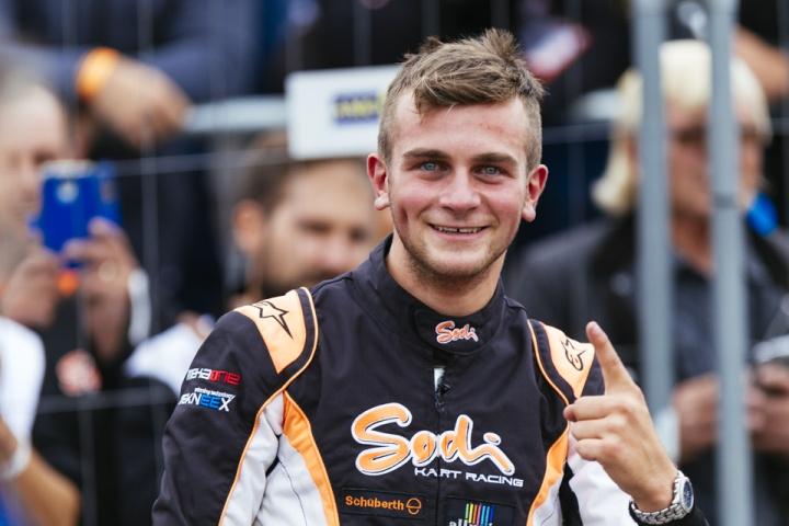 """Alex Irlando vince il titolo FIA Central European Zone """"Talent of the Year 2017"""""""