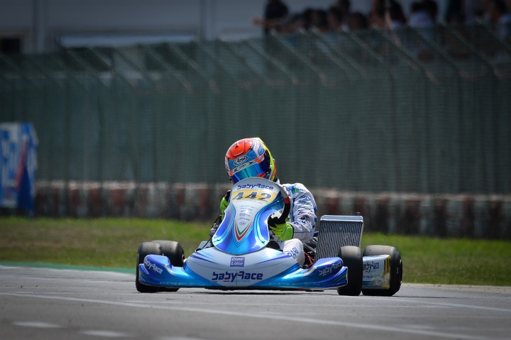 Doppio podio per Ferrari all'esordio in X30 Senior