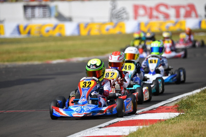 Flavio Olivieri conclude 5° nell'Italiano ACI Kart