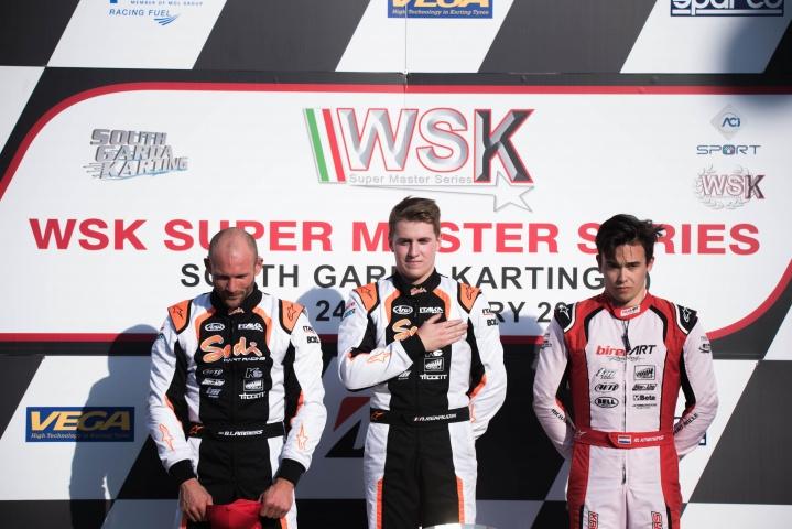 WSK Super Master Series, round 2 – Report Finali