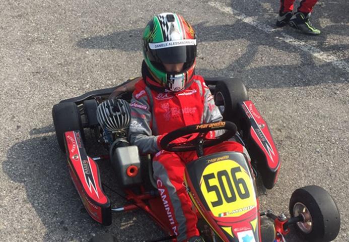 Mattia Caminiti torna a gareggiare
