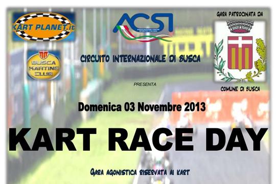 1° Kart Race Day su Busca rinnovata